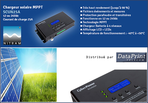 Chargeur solaire Nitram