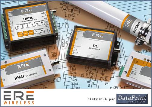 modems radio ERE Wireless distribués par DataPrint