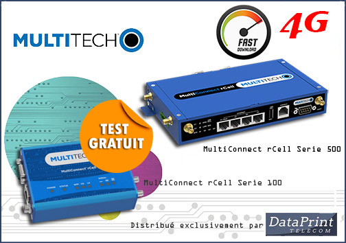 routeur MultiTech MultiConnect rCell 4G